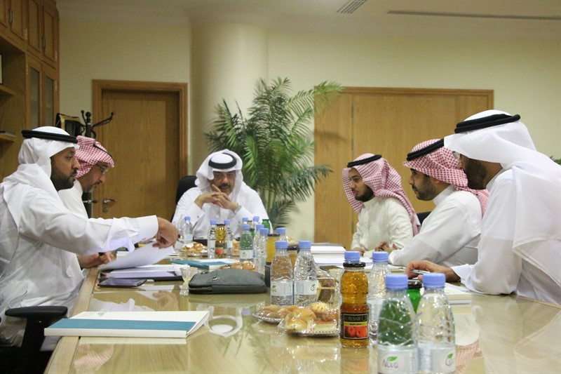 إختتام اللقاء الثالث للمجلس الاستشاري لكلية إدارة الأعمال برئاسة نائب شركة سابك