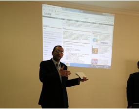 المكتبة المركزية تعقد لقاء تعريفي بشركة YBP لخدمات المكتبات