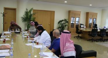 اجتماع المجلس الطلابي الاستشاري الأول في جامعة دار العلوم