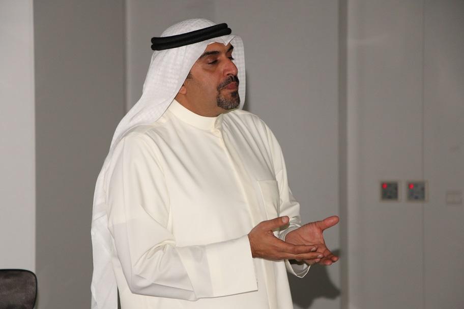 بشار السالم في جلسة حوارية مع طلاب الهندسة المعمارية والتصميم الرقمي