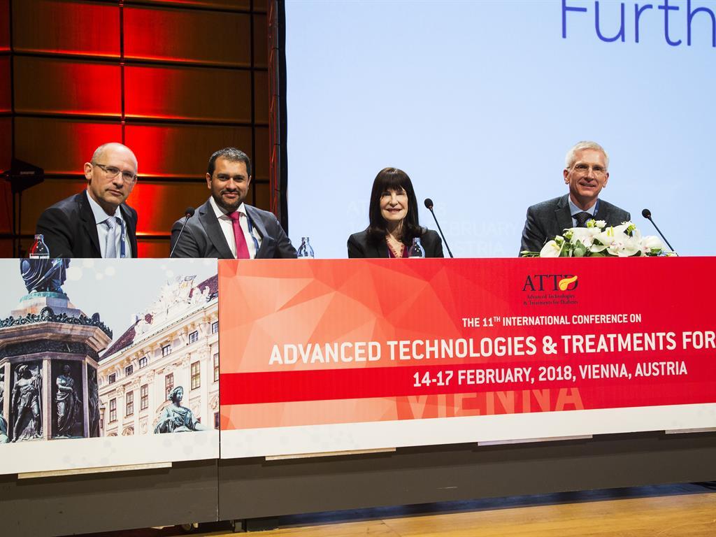 """ممثل """"دار العلوم"""" يشارك في المؤتمر العالمي الحادي عشر للتقنيات المتقدمة لعلاج السكري"""