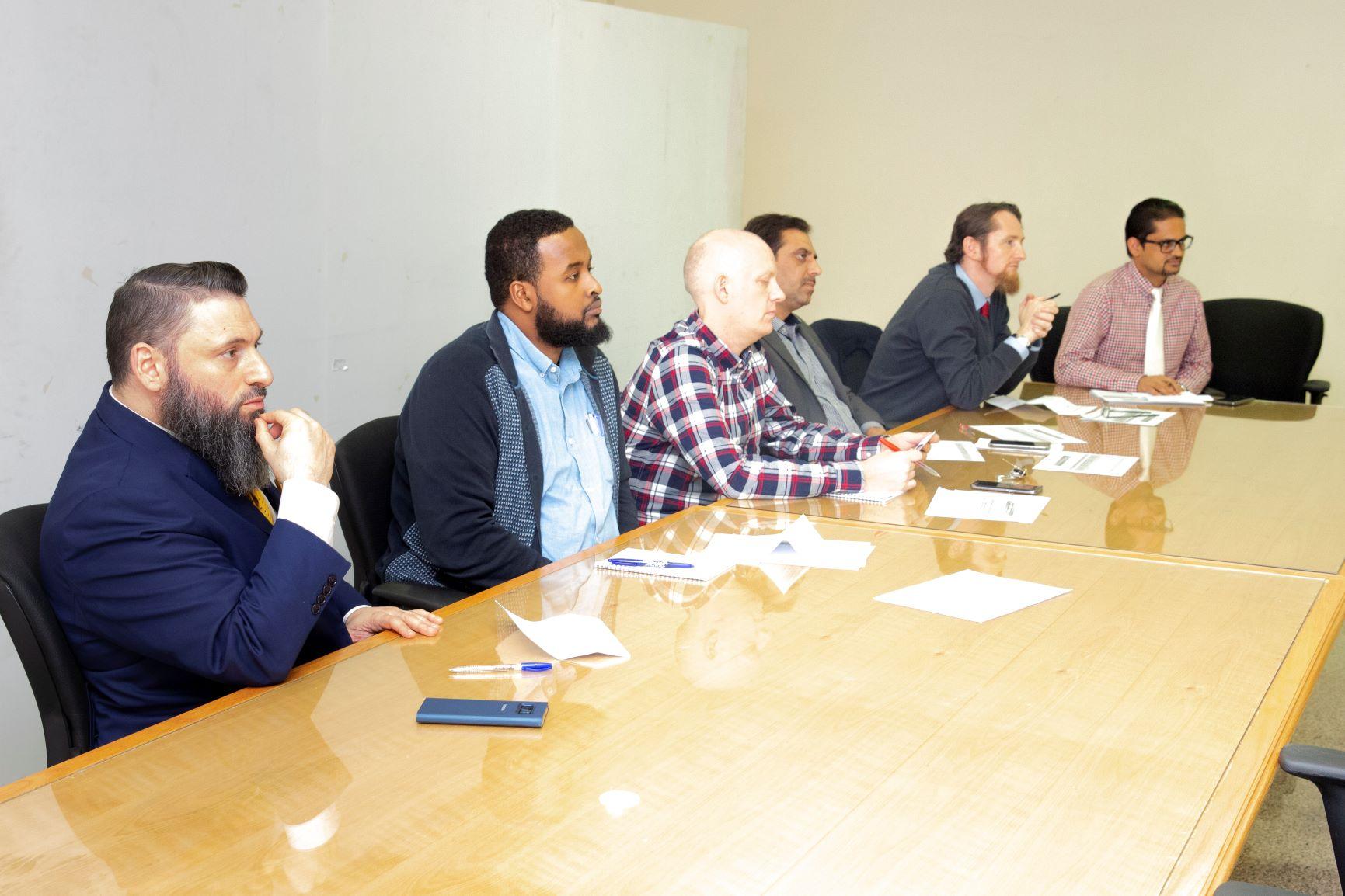 الإعداد الجامعي يواصل ورش عمل التطوير المهني لقسم اللغة الانجليزية