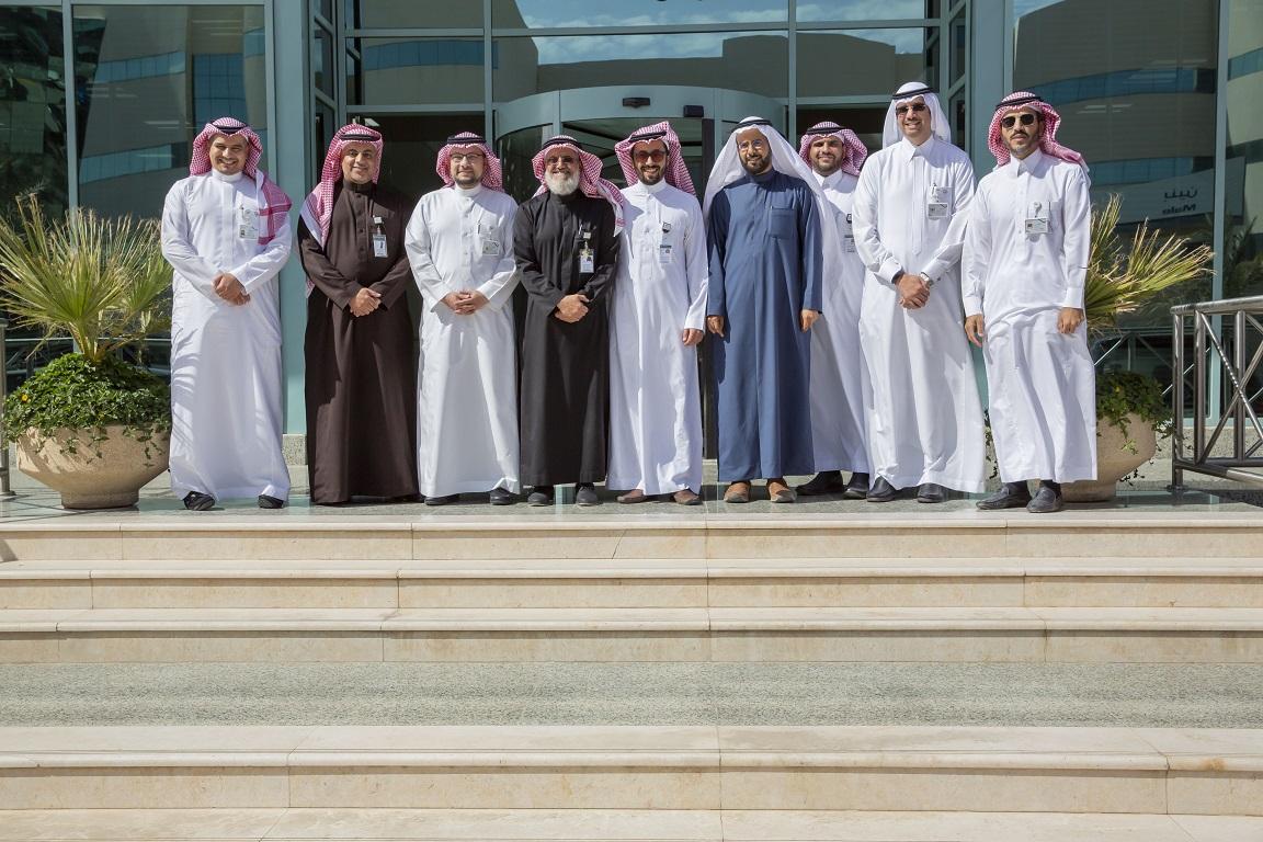وفد الهيئة السعودية للتخصصات الصحية في رحاب جامعة دار العلوم
