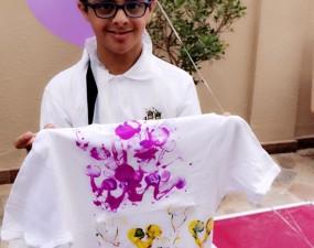 """أطفال جمعية """"دسكا"""" لمتلازمة داون يزورون جامعة دار العلوم"""