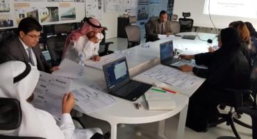 كلية الهندسة المعمارية والتصميم الرقمي تراجع خططها الاستراتيجية.