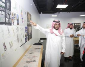 """هندسة """"دار العلوم"""" تنظم برنامج """"تحدي الشباب لمنطقة متاحف الرياض"""""""