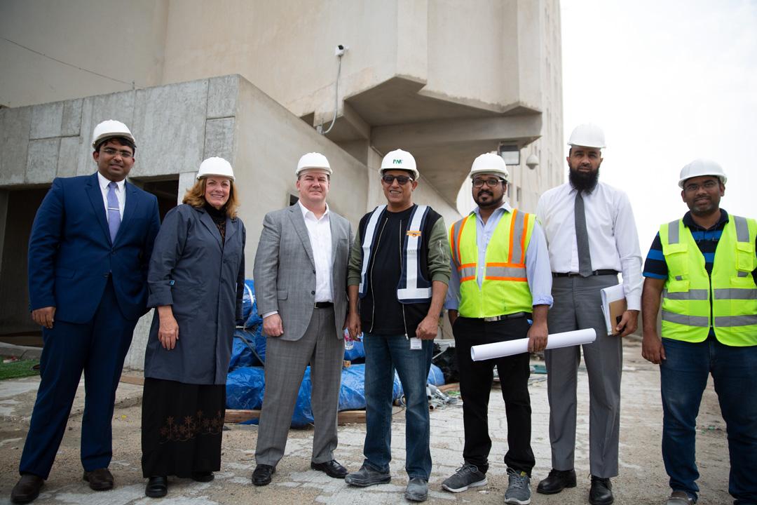 مستشفى الرياض تستقبل اللجنة الدولية المتحدة لاعتماد المنظمات الصحية JCI