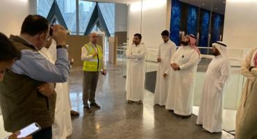 DAU's Engineering visit Samba tower