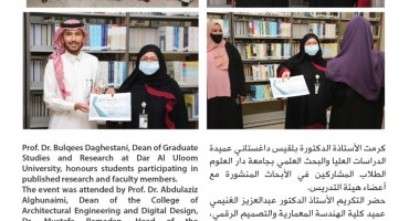 Graduate Studies and Research Honours Students Participating in Published Scientific Research