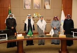 توقيع اتفاقية الاعتماد البرامجي لبكالوريوس القانون