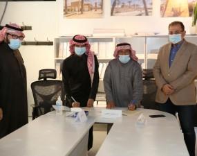 قسم الهندسة العمارية توقيع اتفاقية تعاون مع شركة واقع الفكرة ITOR