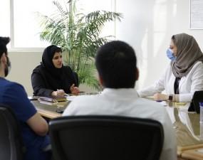 المجلس الطلابي يعقد اجتماعه الثاني مع إدارة الجامعة
